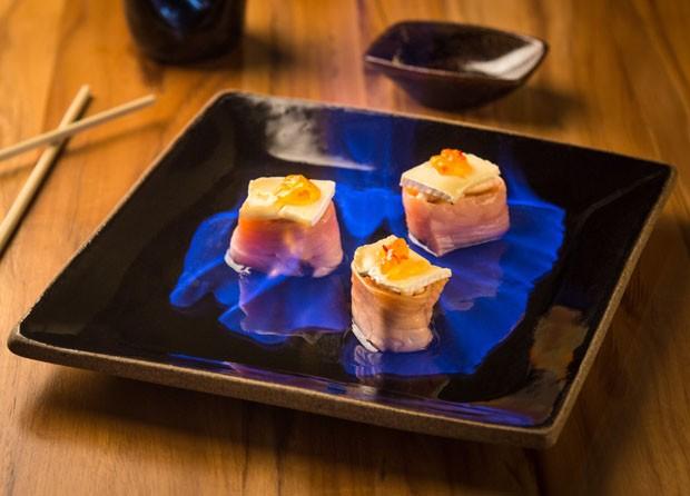 Sushi contemporâneo: aprenda a receita do Shake Spicy Brie (Foto: Anderson Silva/Divulgação)