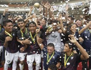 Elenco do Leãozinho, campeão sub-20, ganhou cinco contratações (Foto: Marcelo Seabra/O Liberal)