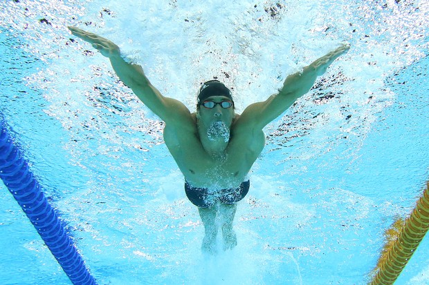 O nadador Michael Phelps (Foto: Getty Images)