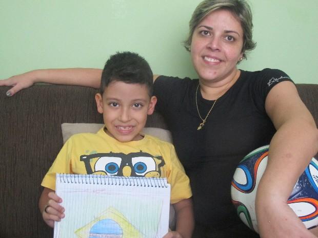 Enzo e Tamara estão confiantes com a campanha (Foto: João Paulo de Castro / G1)