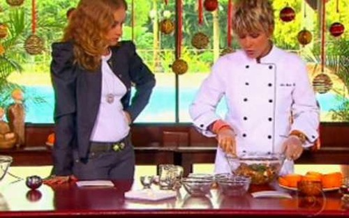 Mousse de chocolate e laranja da Ana Maria Braga