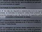 Lei que obriga usuário de ônibus a fazer cartão-transporte gera polêmica