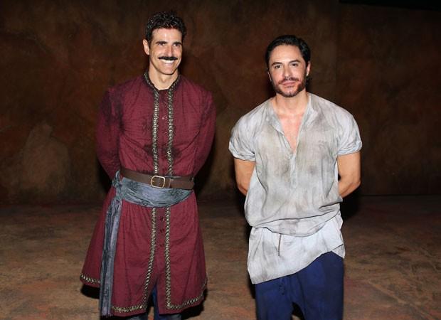 Reynaldo Gianecchini e Ricardo Tozzi (Foto: Thiago Duran/AgNews)