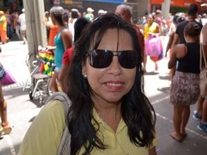 Marcia das Graças (Foto: Marina Fontenele/G1)