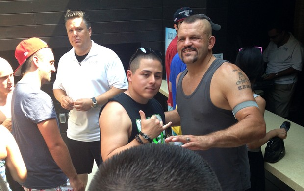 Chuck Liddell UFC 162 Pool Party (Foto: Evelyn Rodrigues)