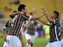 """Fred elogia atuação do Flu e se diz aliviado com gol: """"Pressão era grande"""""""