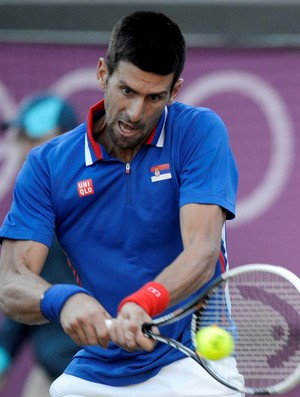 Eliminado das duplas, Djokovic depende de êxito na chave de simples para conquistar medalha olímpica (Foto: EFE)