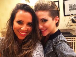 Angelis Borges e Clara (Foto: Reprodução/ Instagram)