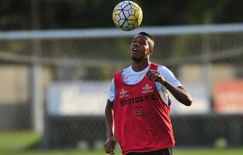Santos escala atletas mais altos e tenta acabar com erros na bola parada