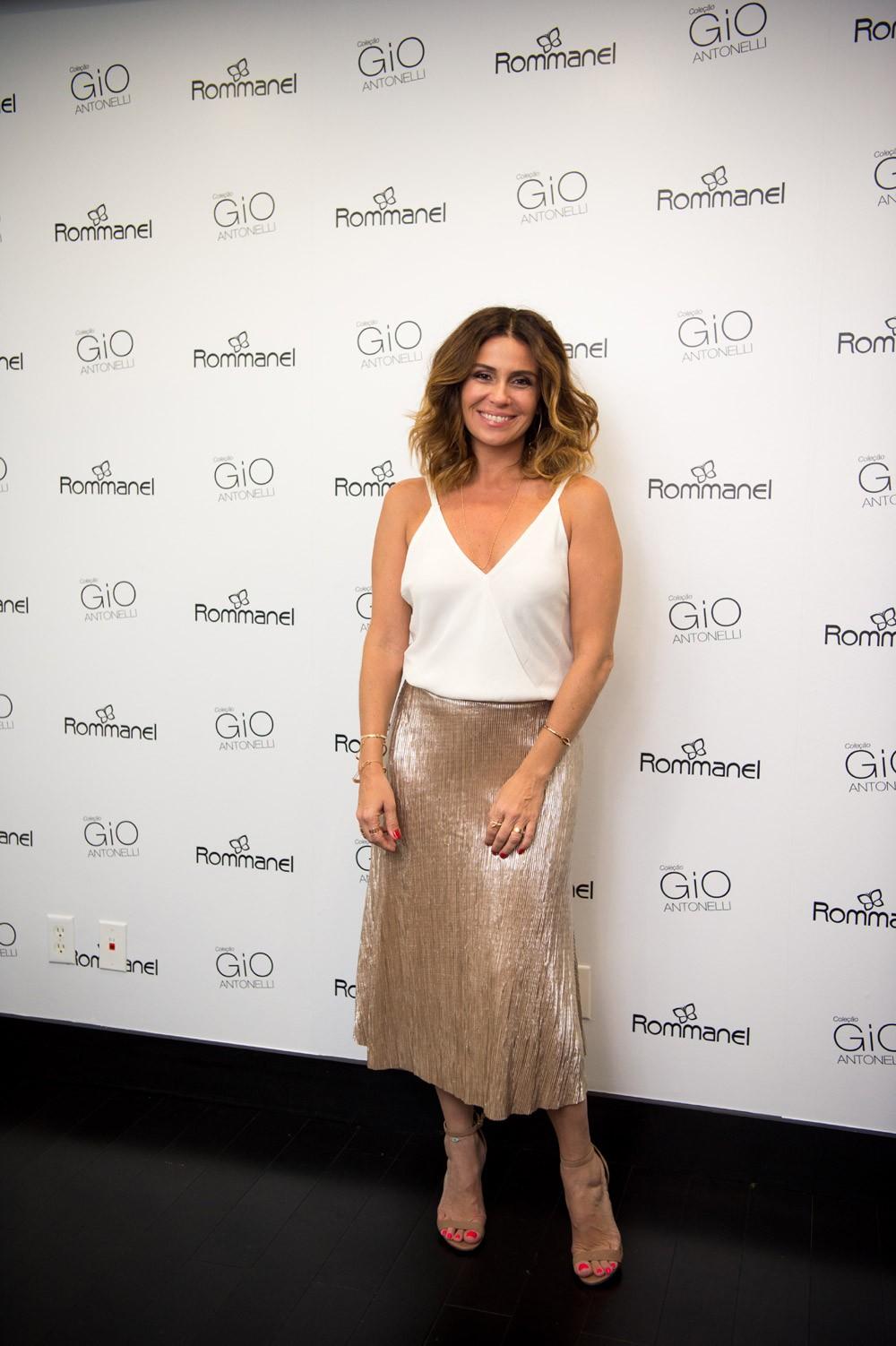 Giovanna Antonelli no lançamento de nova coleção de joias em Miami (Foto: Divulgação/Fabiano Silva)