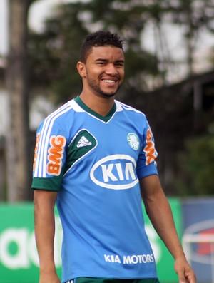 Maurício Ramos treino Palmeiras (Foto: Cleber Akamine)