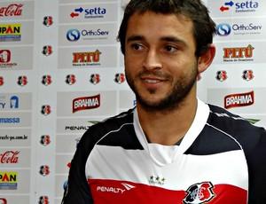 Edson Borges - Santa Cruz (Foto: Pedro Costa/Globoesporte.com/PE)