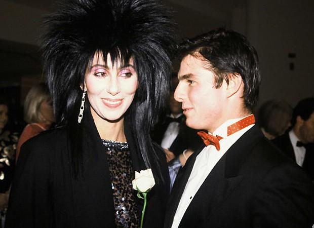 Tom Cruise e Cher (Foto: Reprodução)
