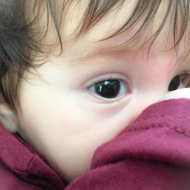 Filho de Adriana Santana (Foto: Reprodução/ Instagram)