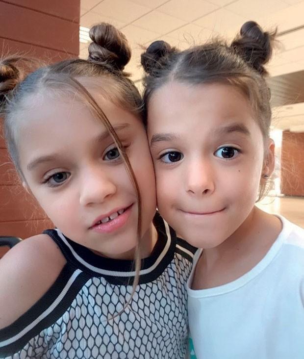 filhas de Bianca Rinaldi (Foto: Reprodução Instagram)