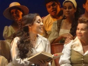 Carmem Monarcha interpreta Adina pela primeira vez (Foto: Ingo Müller/ G1)