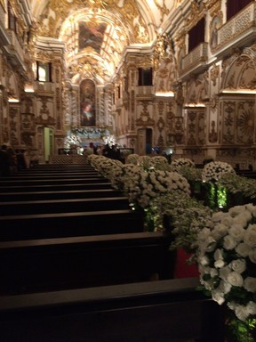 Igreja -  Casamento da Preta Gil (Foto: EGO)