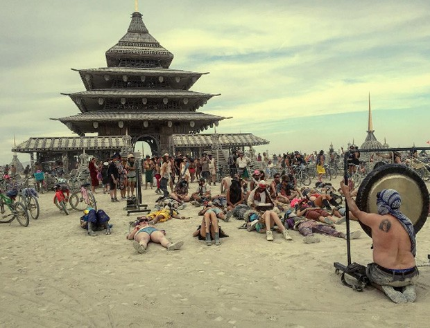 Burning Man acontece em Nevada, nos EUA (Foto: Instagram / Reprodução)