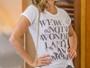 Deborah Secco comenta mudança no estilo após a maternidade e conta: 'Não me peso'