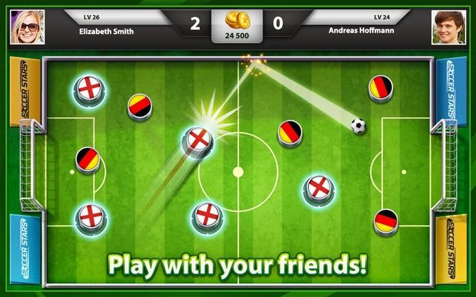 Soccer Stars traz a nostalgia do futebol de botão (Foto: Divulgação)