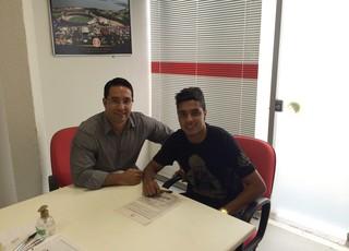 Alisson Farias Inter  (Foto: Reprodução)