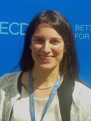 Marta Encinas, analista da OCDE (Foto: Divulgação/OCDE)