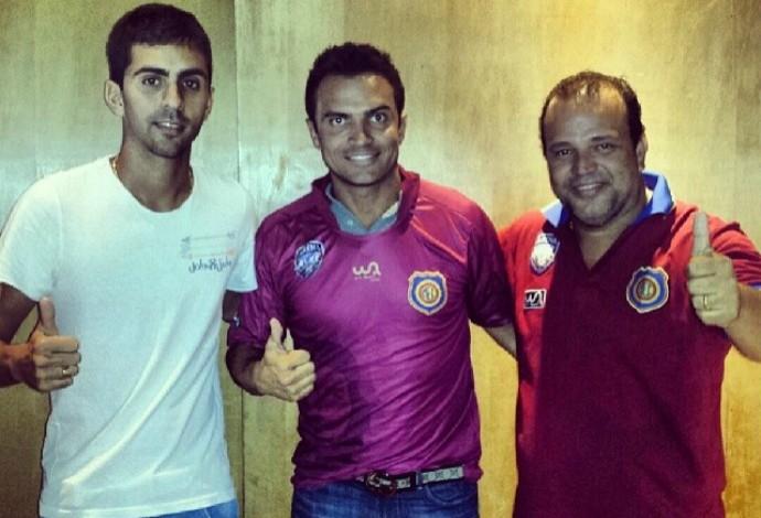 Falcão acerta com o Madureira para a disputa da Liga das Américas de futebol 7 (Foto: Divulgação/ Madureira/Arena Akxe)