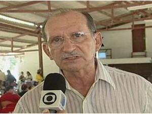 Gabriel Guerreiro morreu aos 74 anos. (Foto: Reprodução/TV Tapajós)