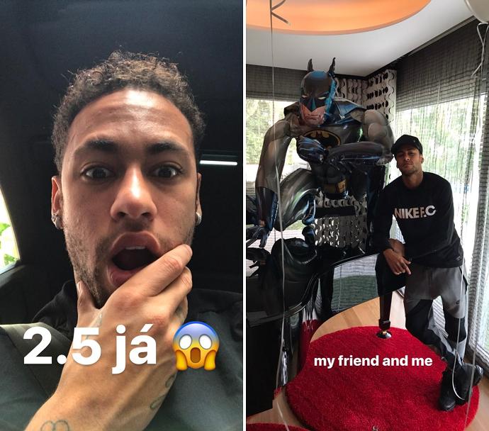 Neymar aniversário