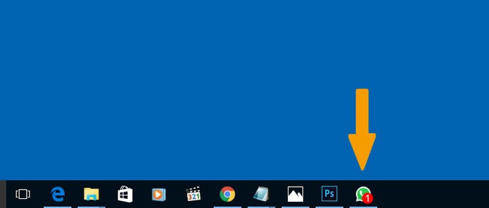 O usuário pode ver de forma mais rápida as notificações de novas mensagens no WhatsApp Desktop (Foto: Reprodução/Barbara Mannara)