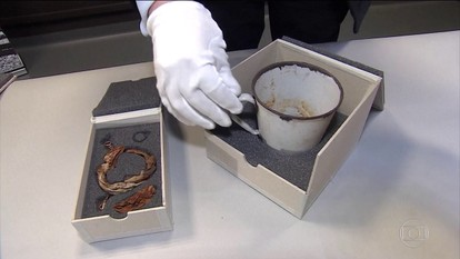 Achadas joias escondidas há mais de 70 anos por prisioneiro de Auschwitz