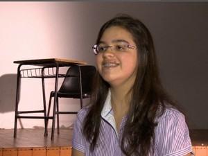 Letícia Mattos da Silva Harvard (Foto: Reprodução/RBS TV)