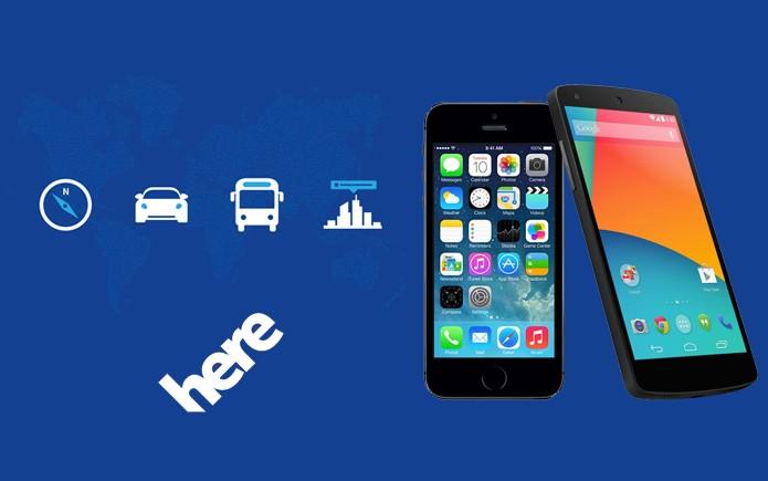 Nokia pode lançar Here Maps completo para Android e iOS em breve (Foto: Arte/Divulgação)