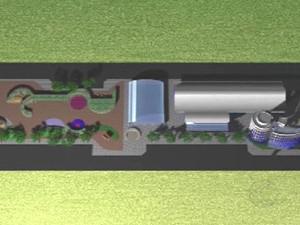 Projeto prevê quadra, piscina aquecida e academia (Foto: Reprodução/TV Integração)