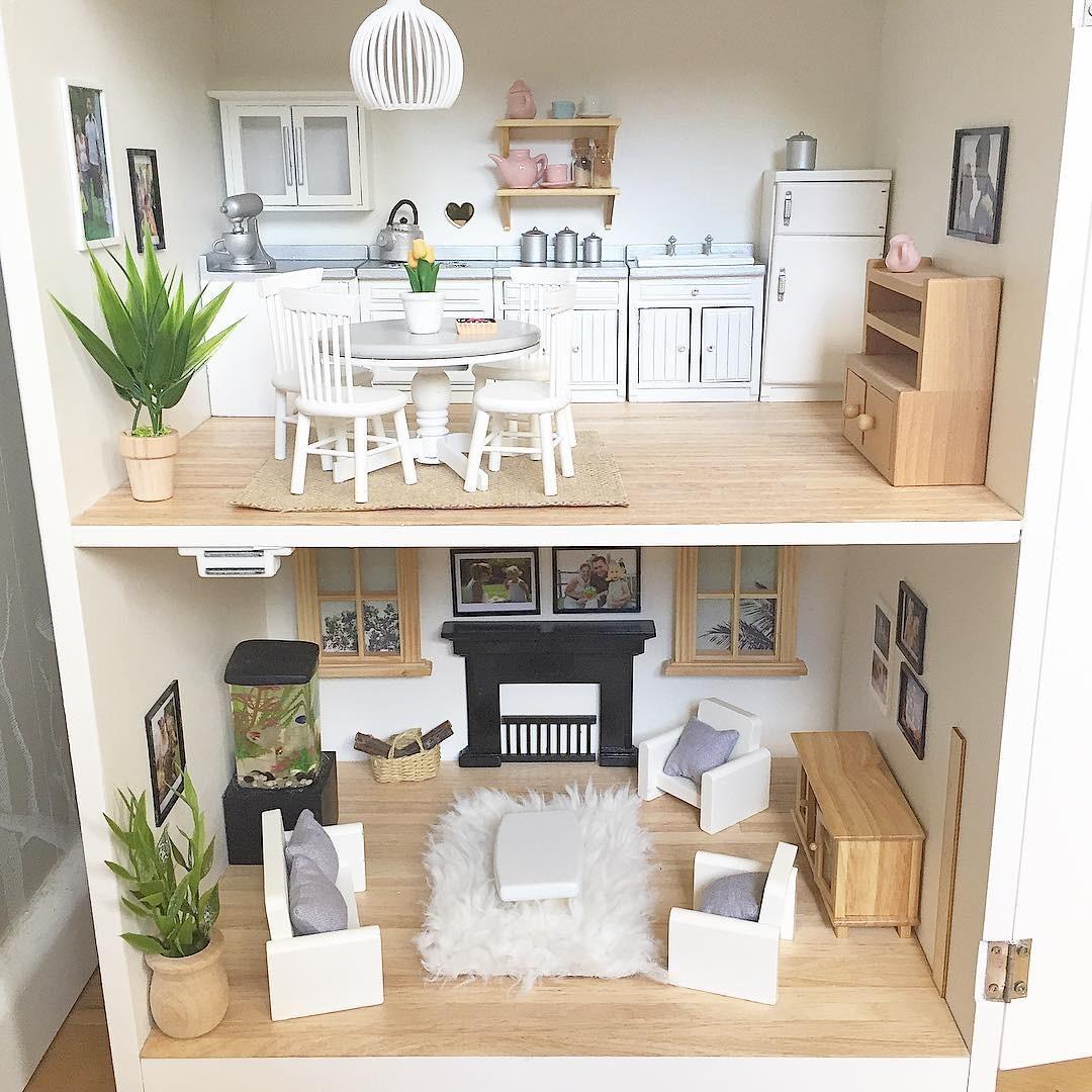 Casa de bonecas da @mini_modern_designs (Foto: Reprodução Instagram @mini_modern_designs)