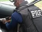 Suspeito é preso na BR-230 após PRF encontrar armas no porta-luvas