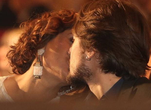 Camila Pitanga e Igor Angelkorte (Foto: André Freitas/AgNews)