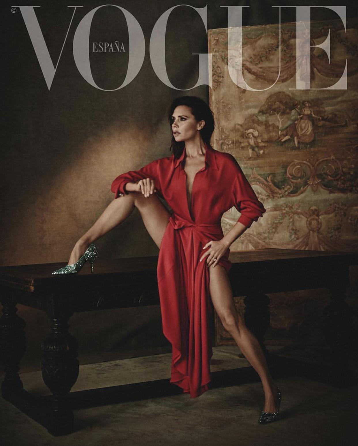 Victoria Beckham na Vogue Espanha (Foto: Reprodução/Instagram)