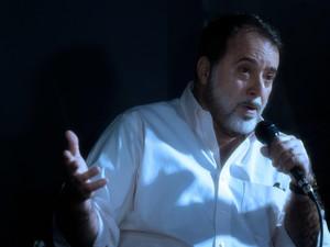 Tony Ramos concedeu entrevista aos jornalistas em Gramado (RS) (Foto:  Edison Vara/Pressphoto )