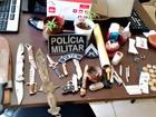 Homem é preso na Cidade do Povo com dois pés de maconha em casa