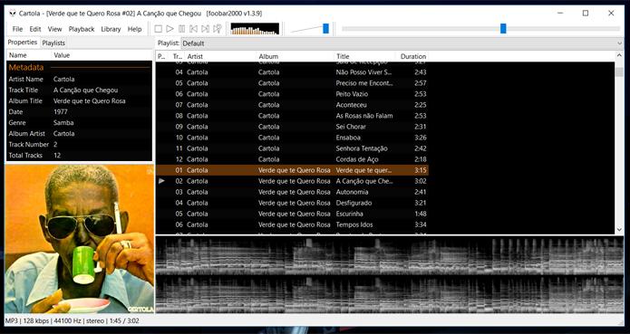 Foobar2000 está entre os reprodutores gratuitos mais interessantes para Windows (Foto: Reprodução/Filipe Garrett)