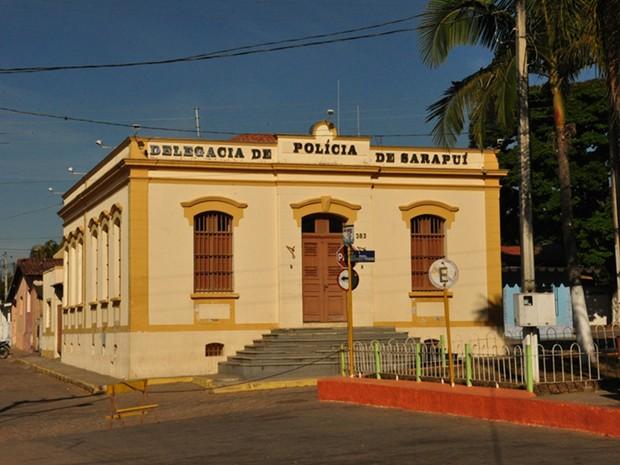 Delegacia de Sarapuí (Foto: Divulgação/ Prefeitura Sarapuí)