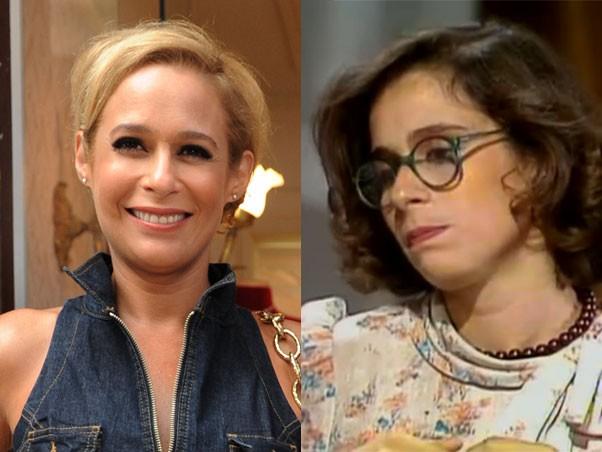 Andrea Beltrão Zelda Scott (Foto: Tapas & Beijos/Armação Ilimitada/TV Globo)