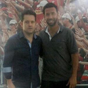 Argel e Thiago Matias (Foto: Marcelo Braga)