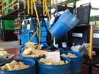 Polícia Civil incinera 1,4 tonelada de drogas em Ceilândia, no DF