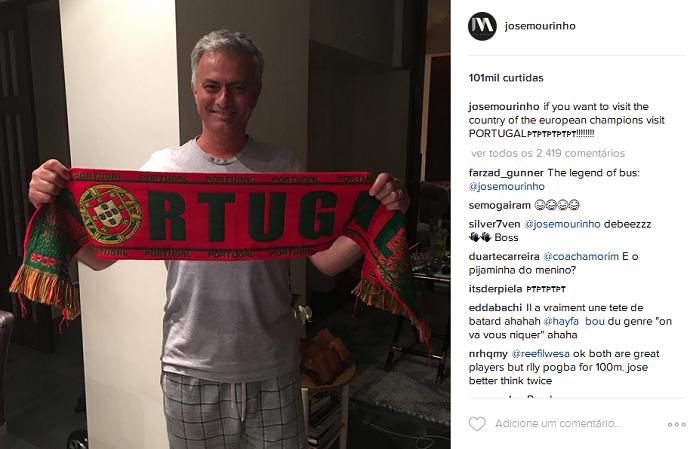 Mourinho instagram