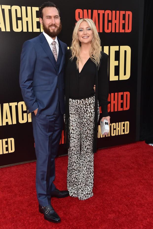 O casal Kate Hudson e Danny Fujikawa (Foto: Getty Images)