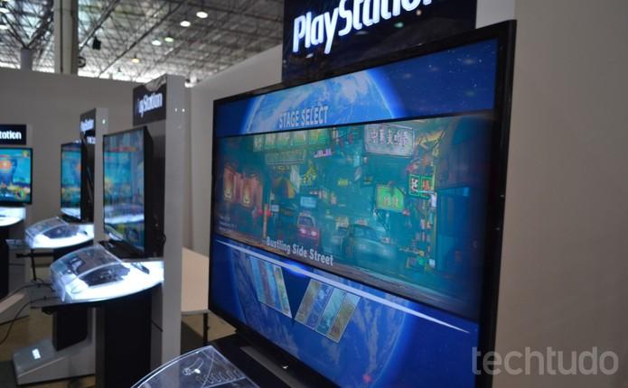 Versão quase pronta de Street Fighter 5 está disponível para testes na Campus Party 2016 (Foto: Diego Borges / TechTudo) (Foto: Diego Borges / TechTudo)