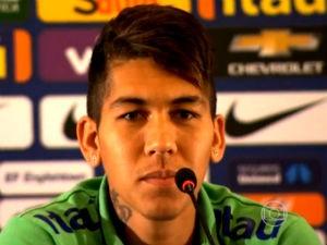 Jogador alagoano Roberto Firmino é destaque no JN (Foto: Reprodução/ Rede Globo)