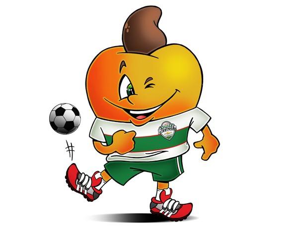 Caju será o mascote do Campeonato Potiguar de Futebol 2013 (Foto: Brum/Divulgação)